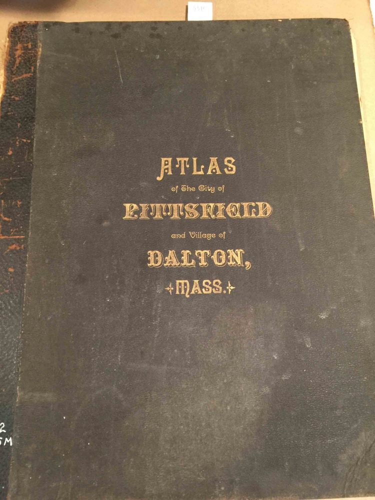 Atlas of the City of Pittsfield Berkshire County, Massachusetts Including the Village of Dalton. D. L. Miller.