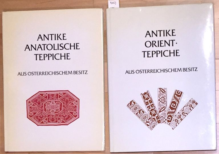 Antique Anatolian Carpets from Austrian Collections (vol 1). [With:] Antique Oriental Carpets from Austrian Collections (vol 2)