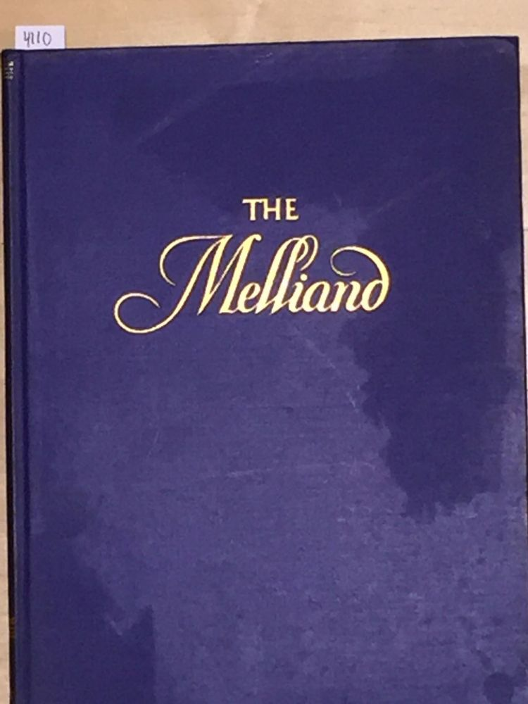 The Melliand The Technical Authority of the World's Textile Industries (vol. 1 no. 4)