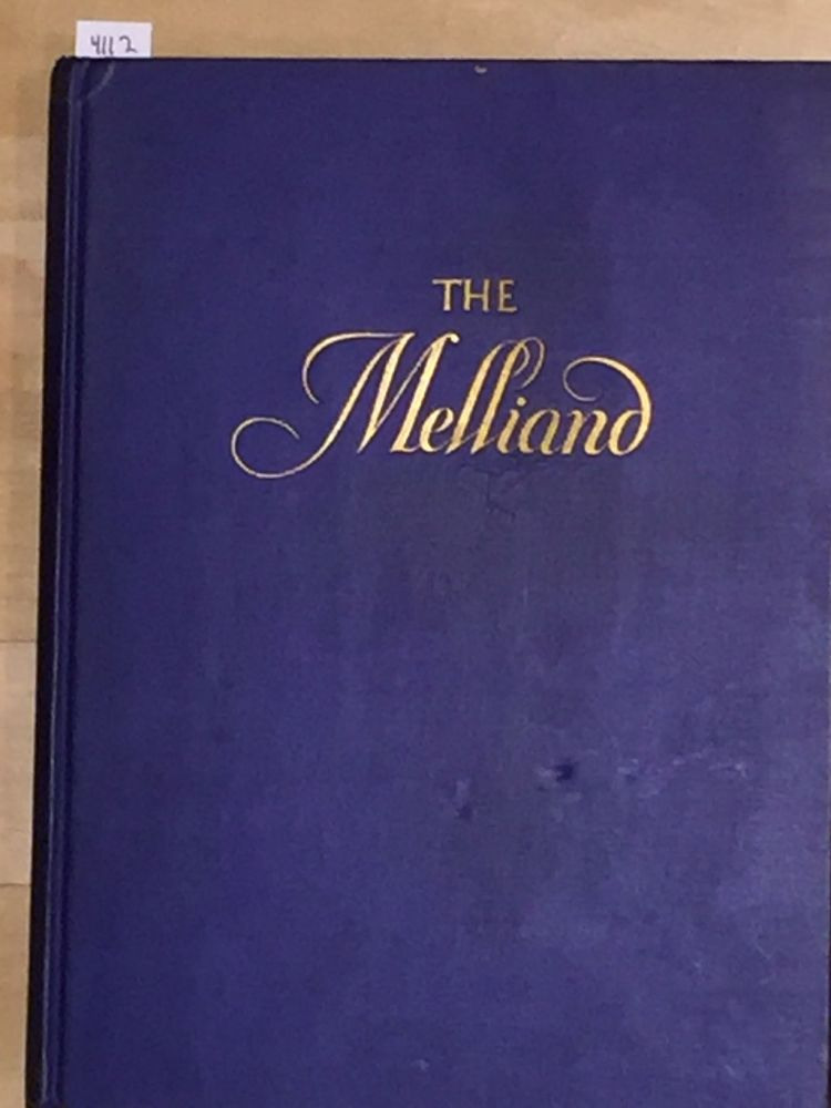 The Melliand The Technical Authority of the World's Textile Industries (vol. 1 no. 7)