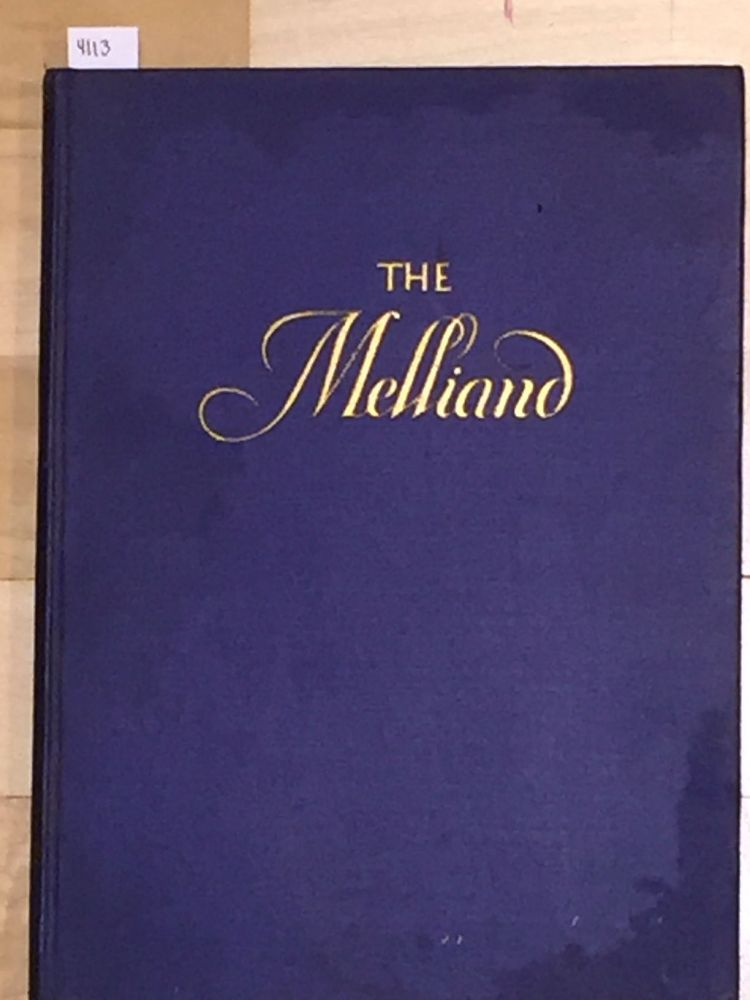 The Melliand The Technical Authority of the World's Textile Industries (vol. 1 no. 9)