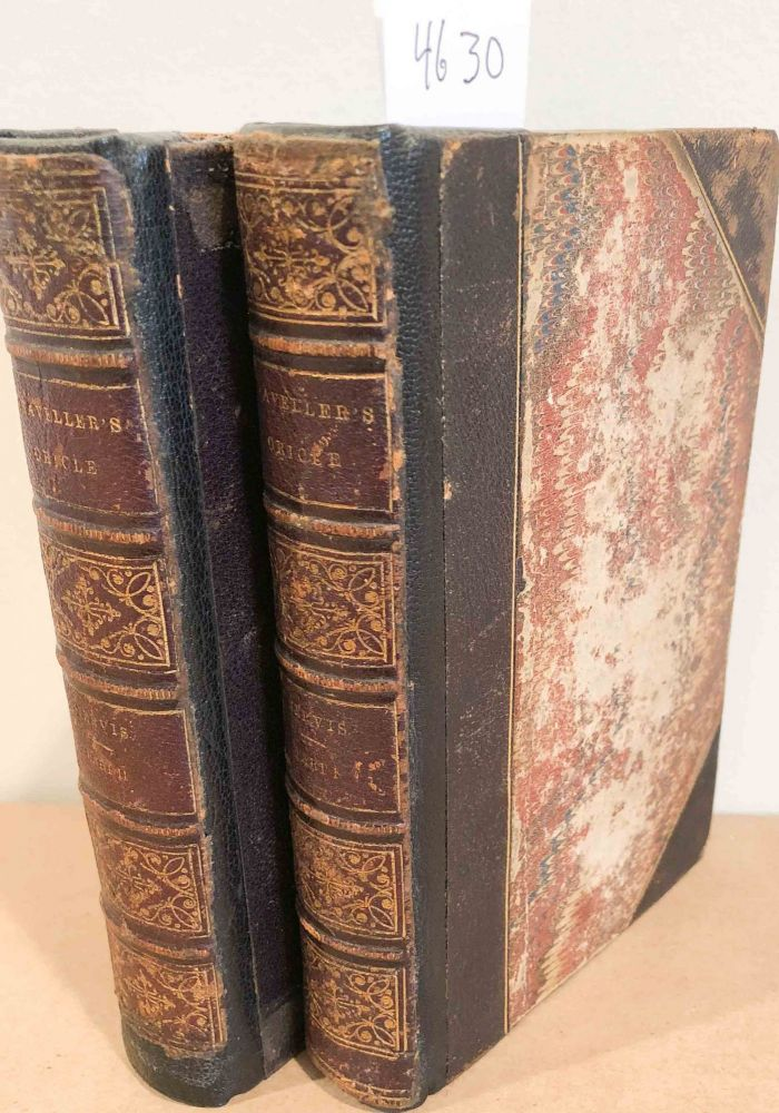 The Traveller's Oracle containing Maxims for Promoting the Pleasures and Hints for Preserving the Health of Travelers (2 vols.). William Kitchiner, John Jervis.