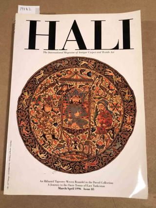 HALI The International Journal of Oriental Carpets and Textiles 1996 issue 85. Franses and Pinner