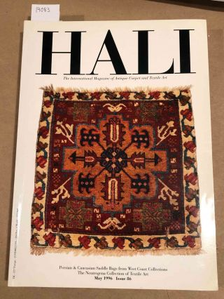 HALI The International Journal of Oriental Carpets and Textiles 1996 issue 86. Franses and Pinner