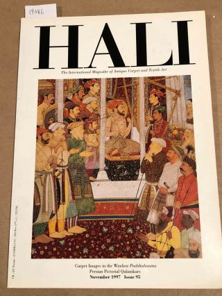 HALI The International Journal of Oriental Carpets and Textiles 1997 issue 95. Franses and Pinner