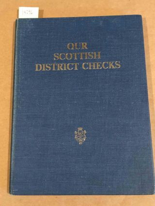 Our Scottish District Checks