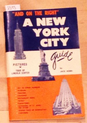 And on the right - A New York City Guide