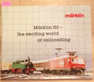 Marklin HO - the exciting world of railroading