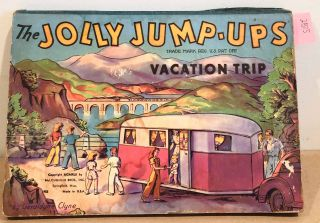 The Jolly Jump - Ups Vacation Time (pop- up). Geraldyne Clyne