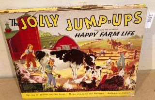 The Jolly Jump - Ups Happy Farm Life (pop- up). Geraldyne Clyne