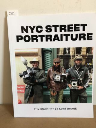NYC Street Portraiture (signed). Kurt Boone