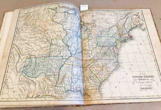 School Atlas [to Cummings' Ancient and Modern Geography Improved]