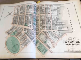 Atlas of the County of Suffolk, Massachusetts Vol. 3rd including South Boston and Dorchester 1874