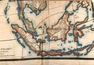 Profiles of Asia and Asia Independent Series of School Maps 1860