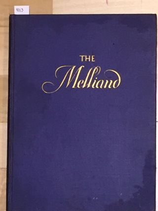 The Melliand The Technical Authority of the World's Textile Industries (vol. 1 no. 9