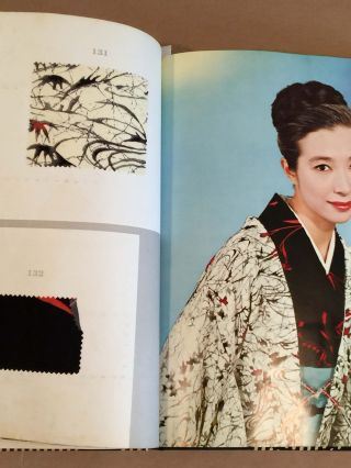 Kimono Cloth color and pattern book