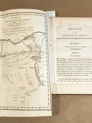 The Journal of Frederick Horneman's Travel from Cairo to Mourzouk, the Capital of the Kingdom of Fezzan in Africa in the years 1797 - 8