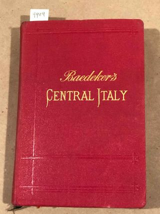 Central Italy. Baedeker