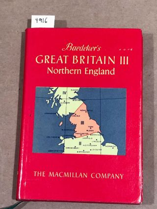 Great Britain III Northern England. Baedeker