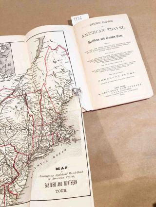 Appleton's Hand Book of American Travel Northern and Eastern Tour (1 vol. 1870)