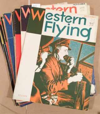 Western Flying (Jan. - Dec, 1932 12 loose issues