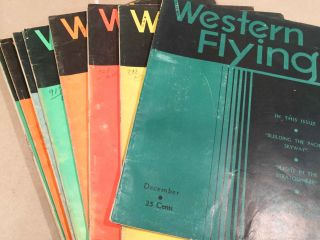 Western Flying (Jan. - Dec, 1935 12 loose issues