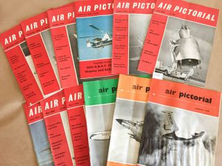 Air Pictorial and Reserve Gazette (12 issues Jan.- Dec.1959 G)