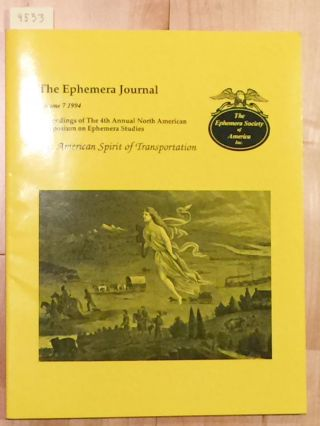 The Ephemera Journal Vol. 7 1994